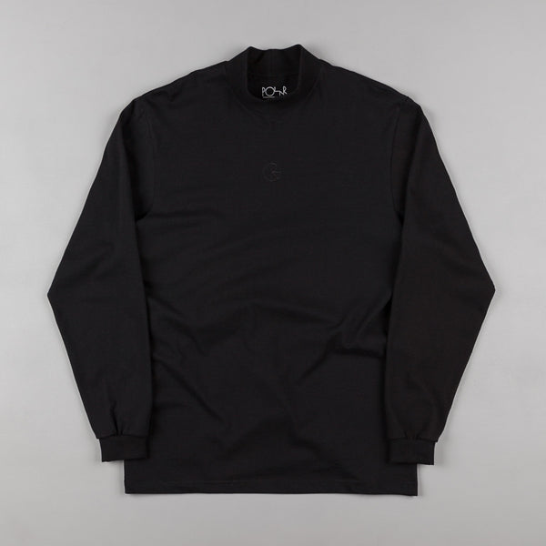 Polar Alv Mockneck Long Sleeve T-Shirt - Black