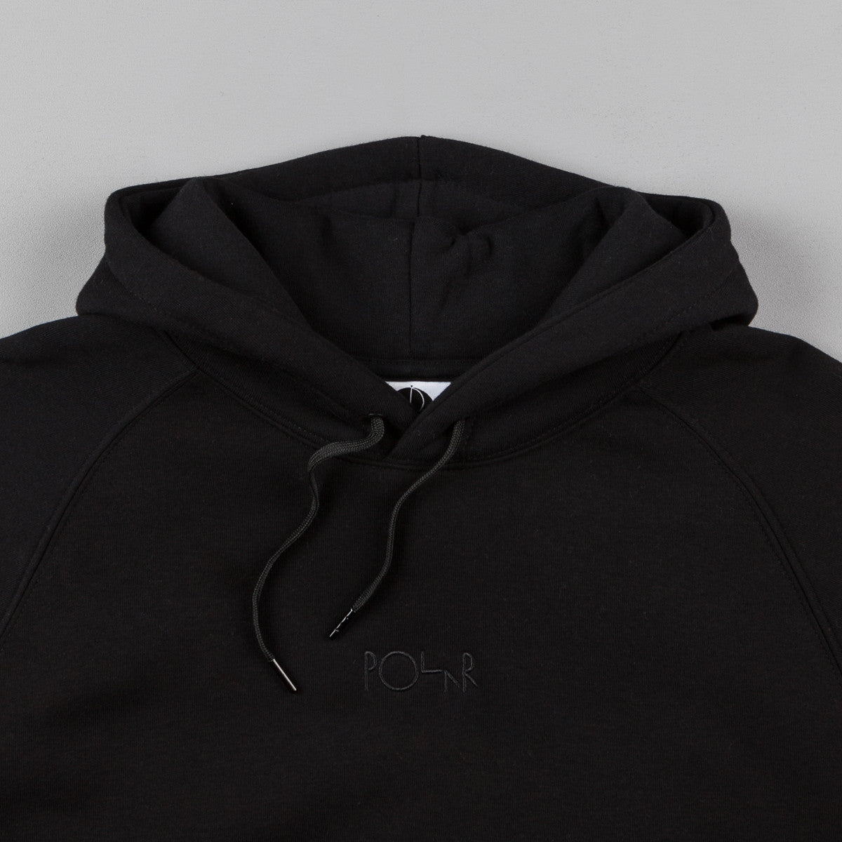 Polar Default Hooded Sweatshirt - Black / Black