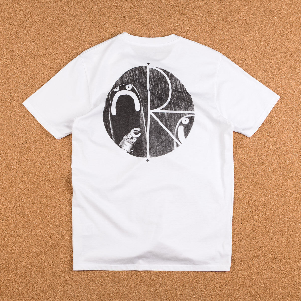 Polar Happy Sad T-Shirt - White