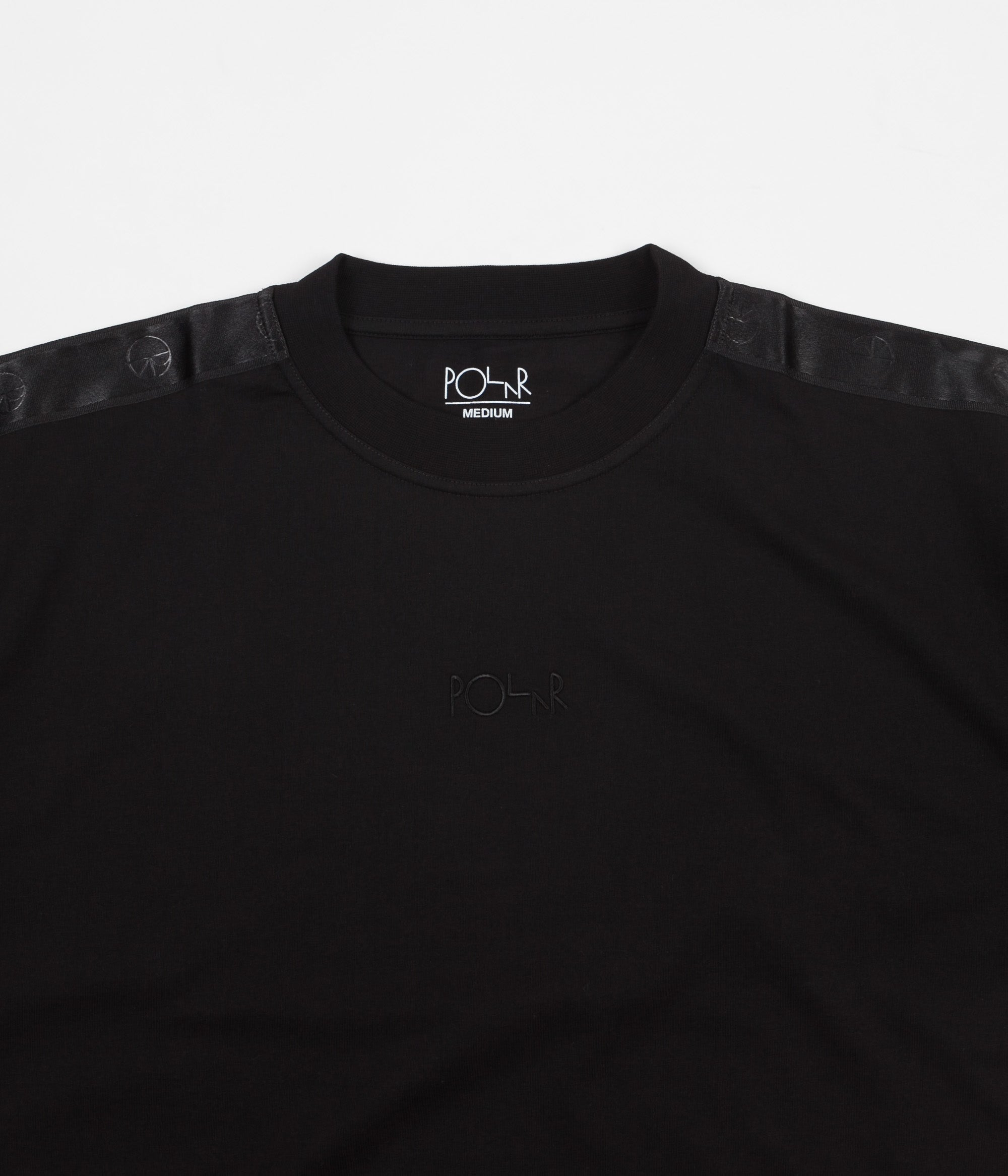 Polar Tape Surf T-Shirt - Black / Black