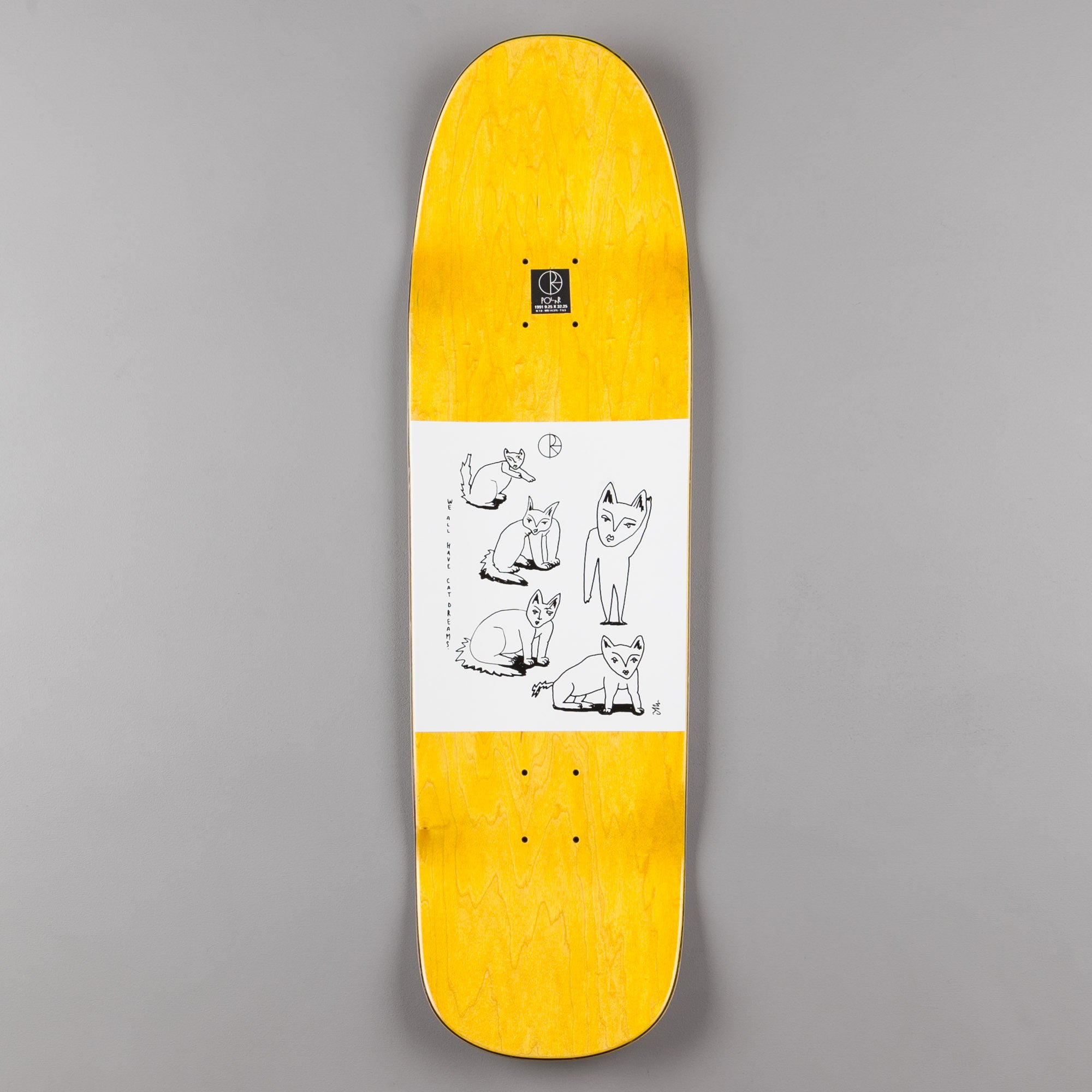 Polar Team Model Master Dinner 1991 Shape Deck - 9.25""