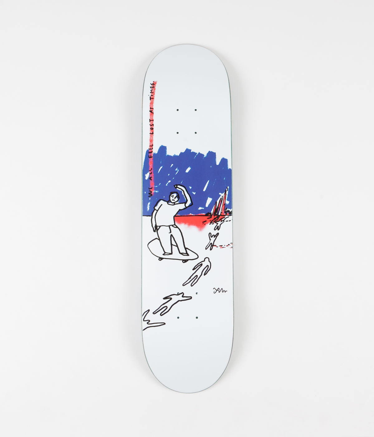 Polar Team We All Feel Lost At All Times Deck - 8.125""