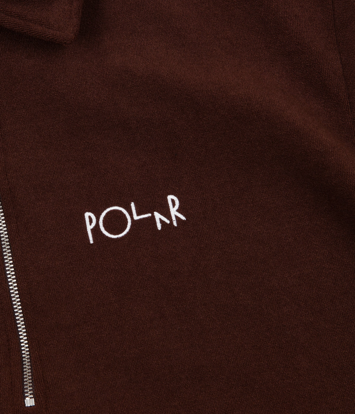 Polar Terry Surf Pique T-Shirt - Brown