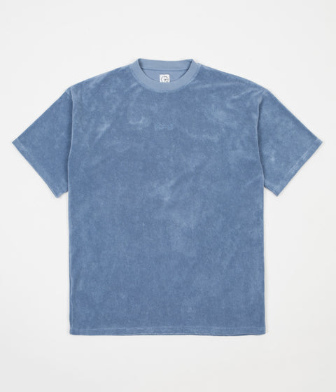 Polar Terry Surf T-Shirt - Dusty Indigo