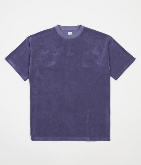 Polar Terry Surf T-Shirt - Plum