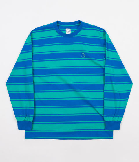 Polar Tilda Long Sleeve T-Shirt - 80's Blue / Mint