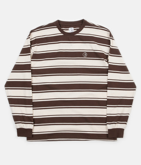 Polar Tilda Long Sleeve T-Shirt - Brown / Cream