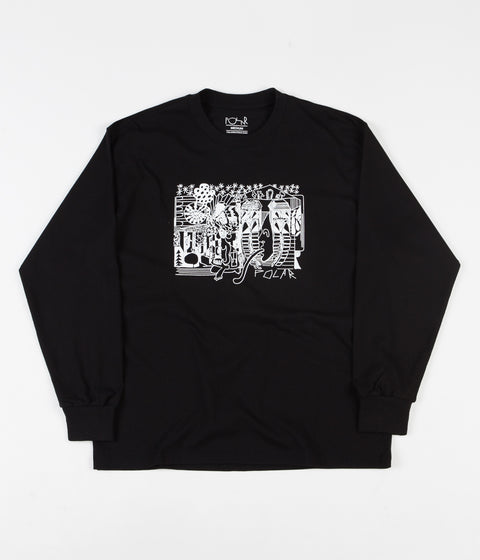 Polar TK Long Sleeve T-Shirt - Black
