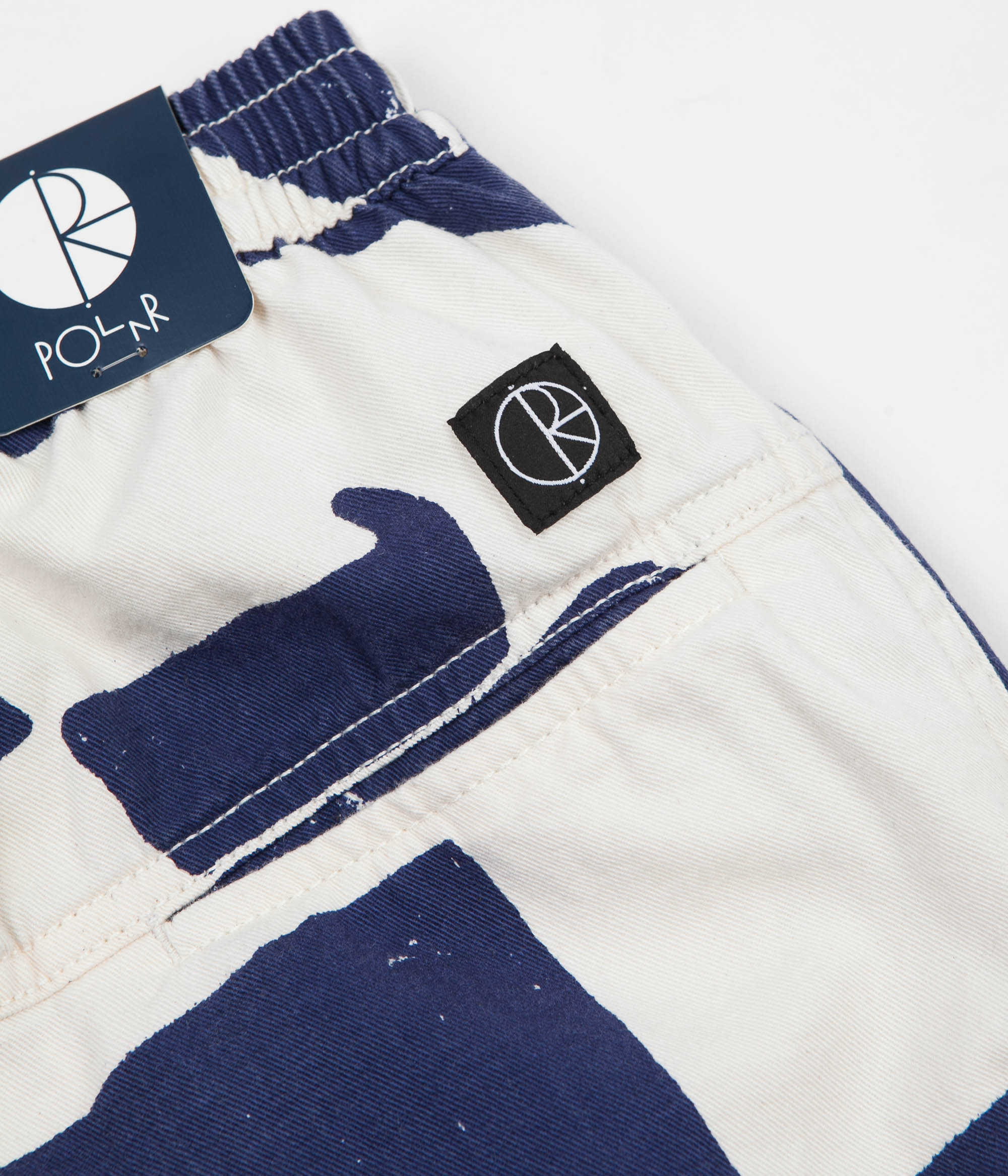 Polar TK Surf Pants - Ecru / Navy
