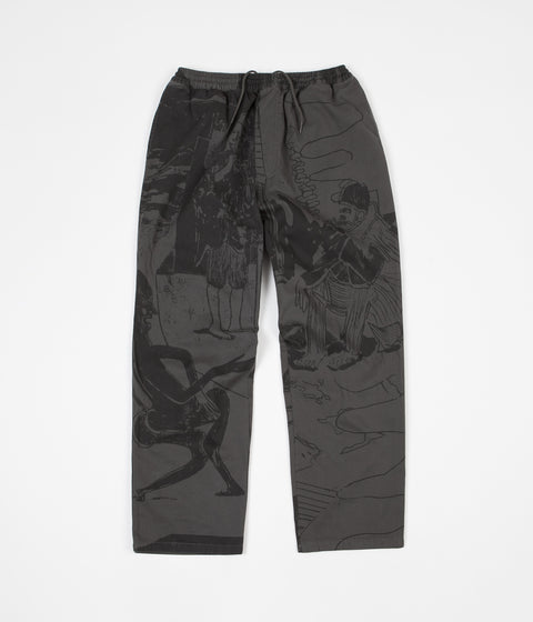Polar TK Surf Pants - Grey Green