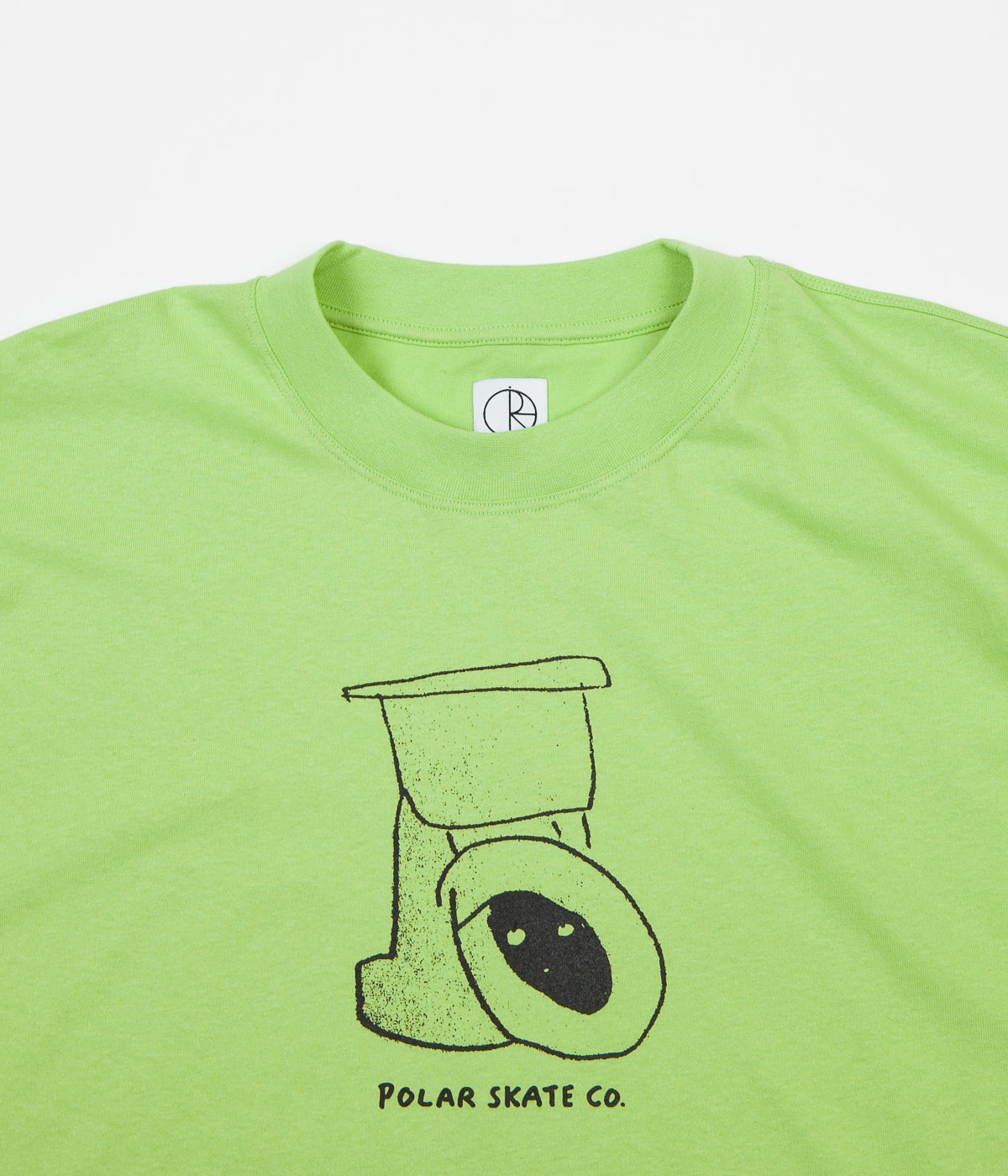 Polar Toilet Surf T-Shirt - Gecko Green