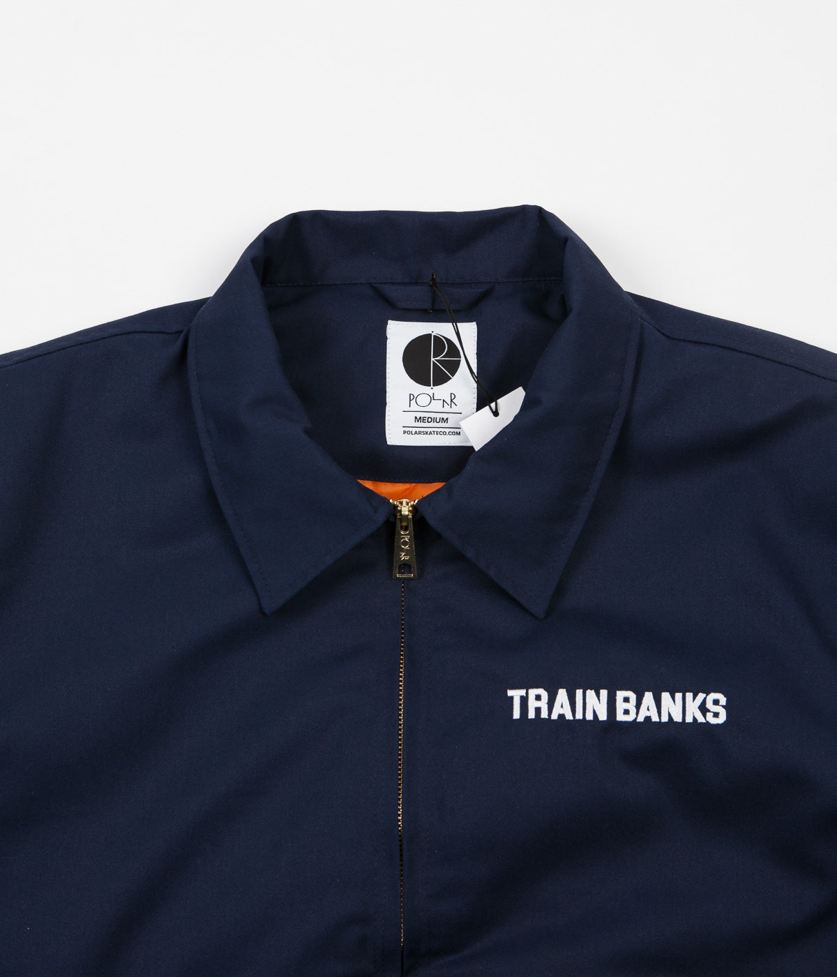 Polar Train Banks Jacket - Navy
