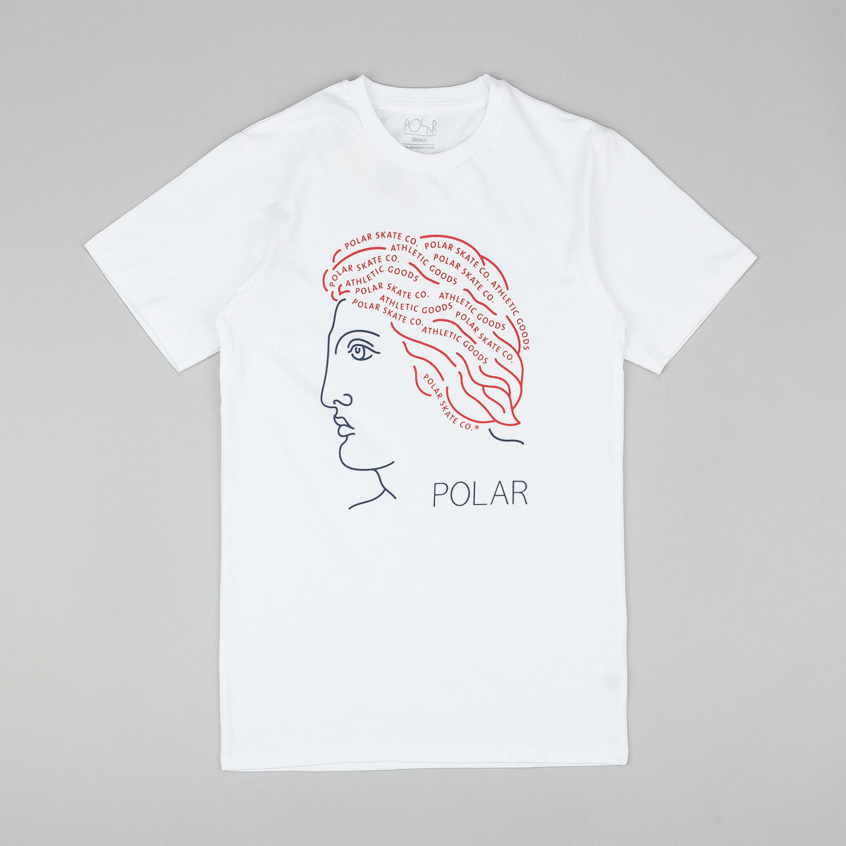Polar Untitled Head T Shirt White