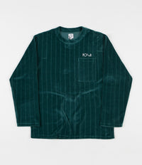 Polar Velour Pullover Sweatshirt - Dark Green