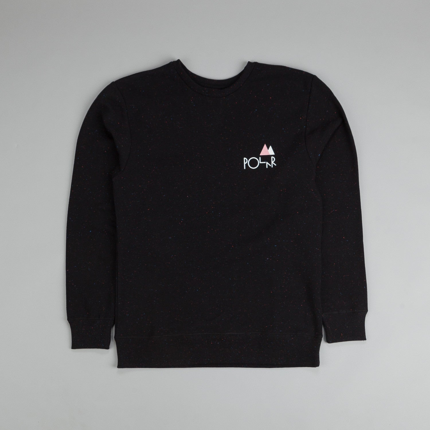 Polar Wallie & No Comply Sweatshirt Black / White