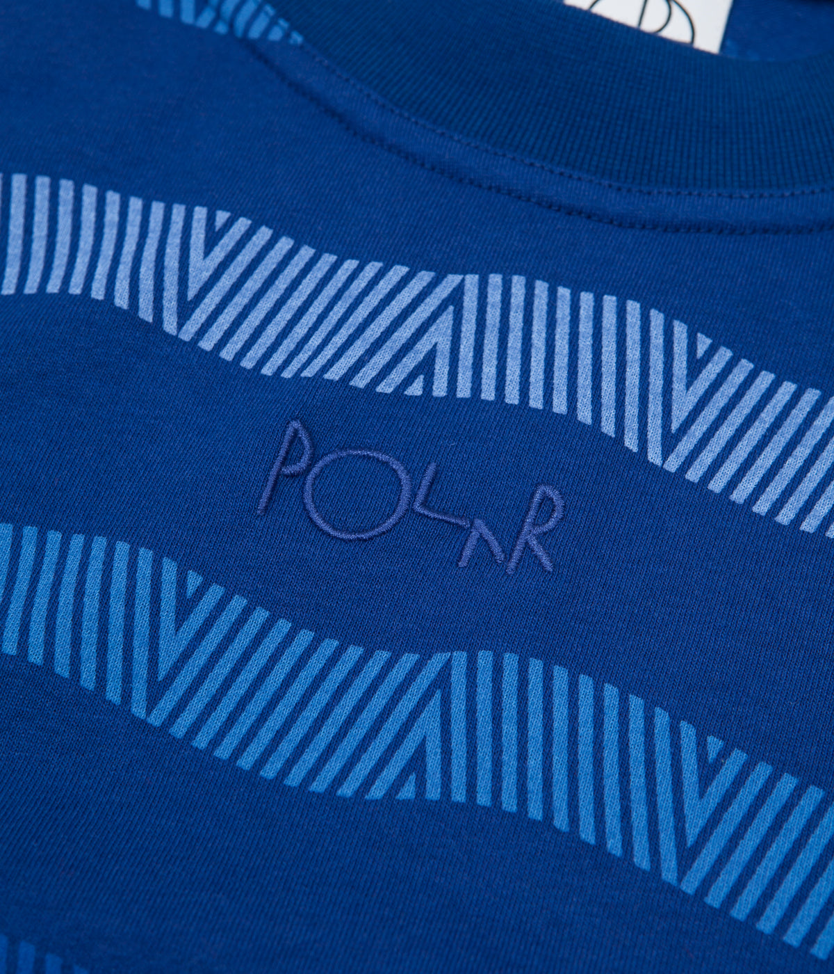 Polar Wavy Surf T-Shirt - Dark Blue