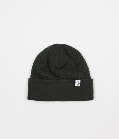 Polar Wobble Beanie - Grey / Green