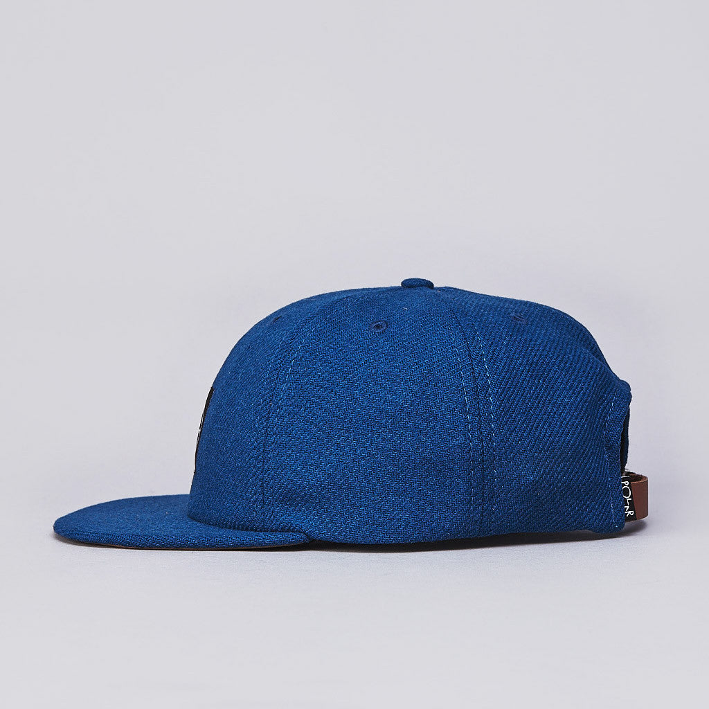 Polar Wool 6 Panel Cap Deep Blue