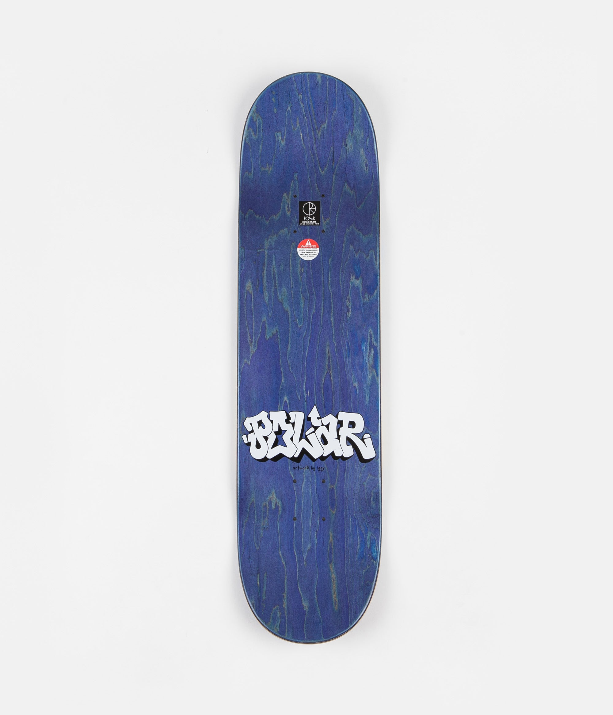 Polar x Iggy Boys On A Ramp Deck - Blue - 8.25""