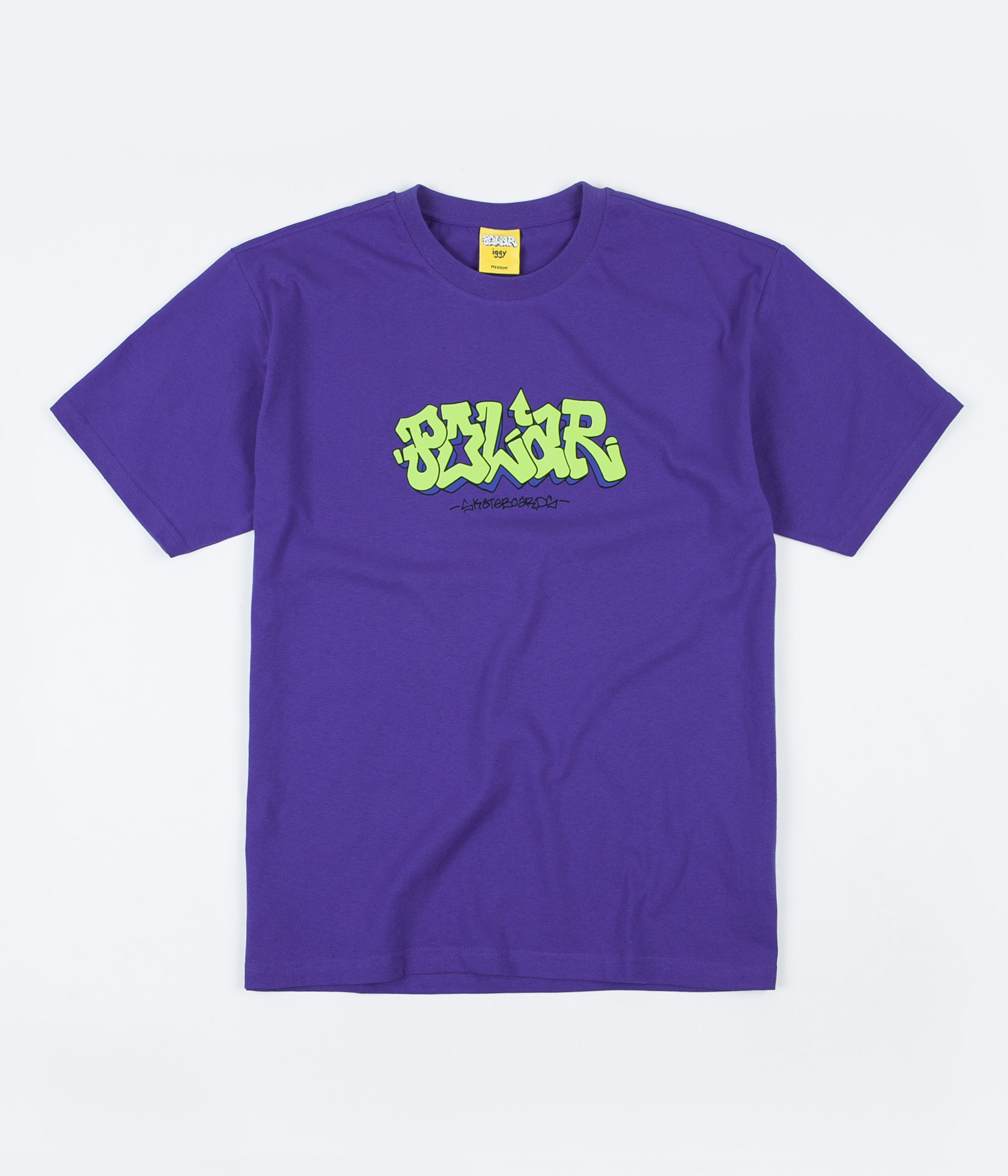 Polar x Iggy Graf T-Shirt - Blueish Purple