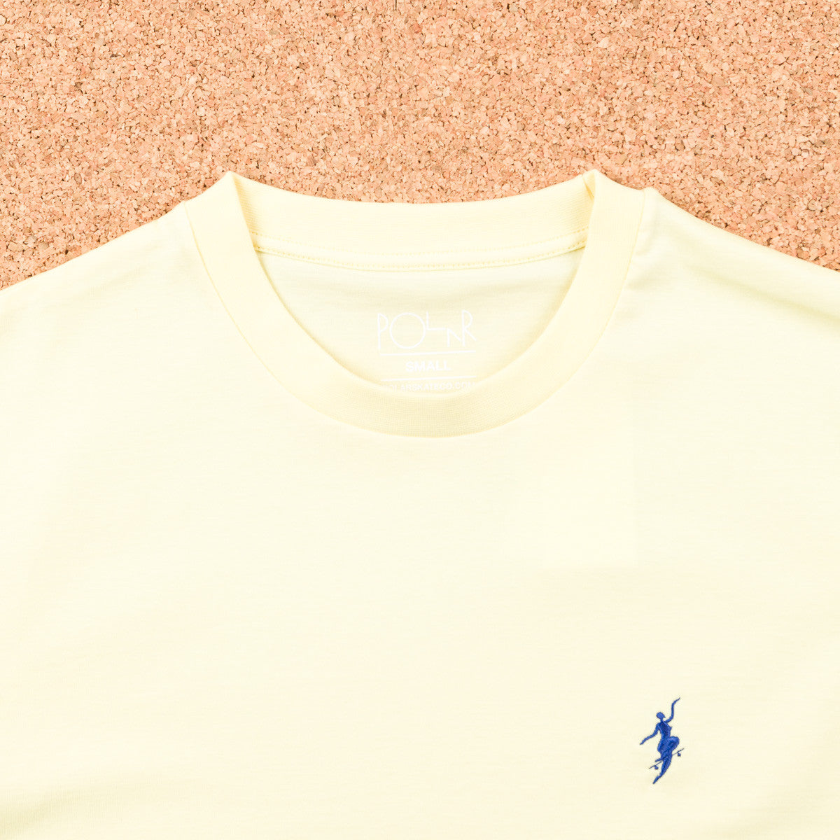 Polar No Comply T-Shirt - Pastel Yellow