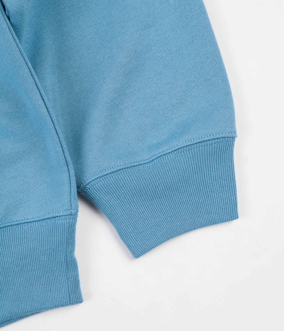 Polar Zip Neck Sweatshirt - Blue