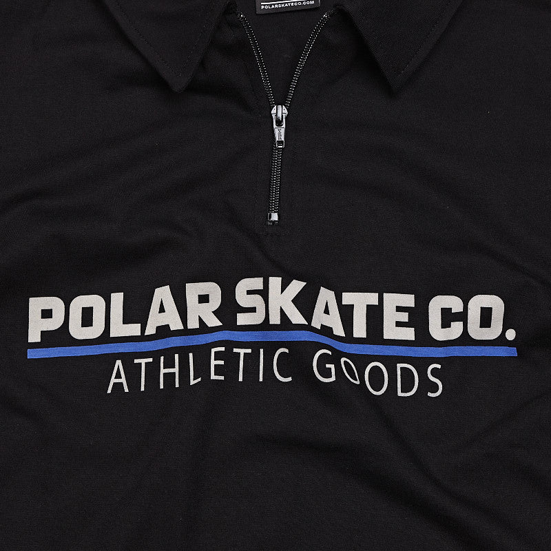 Polar Zip Shirt Black