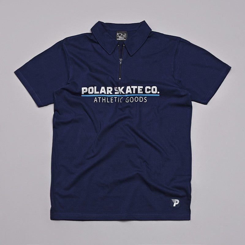 Polar Zip Shirt Navy