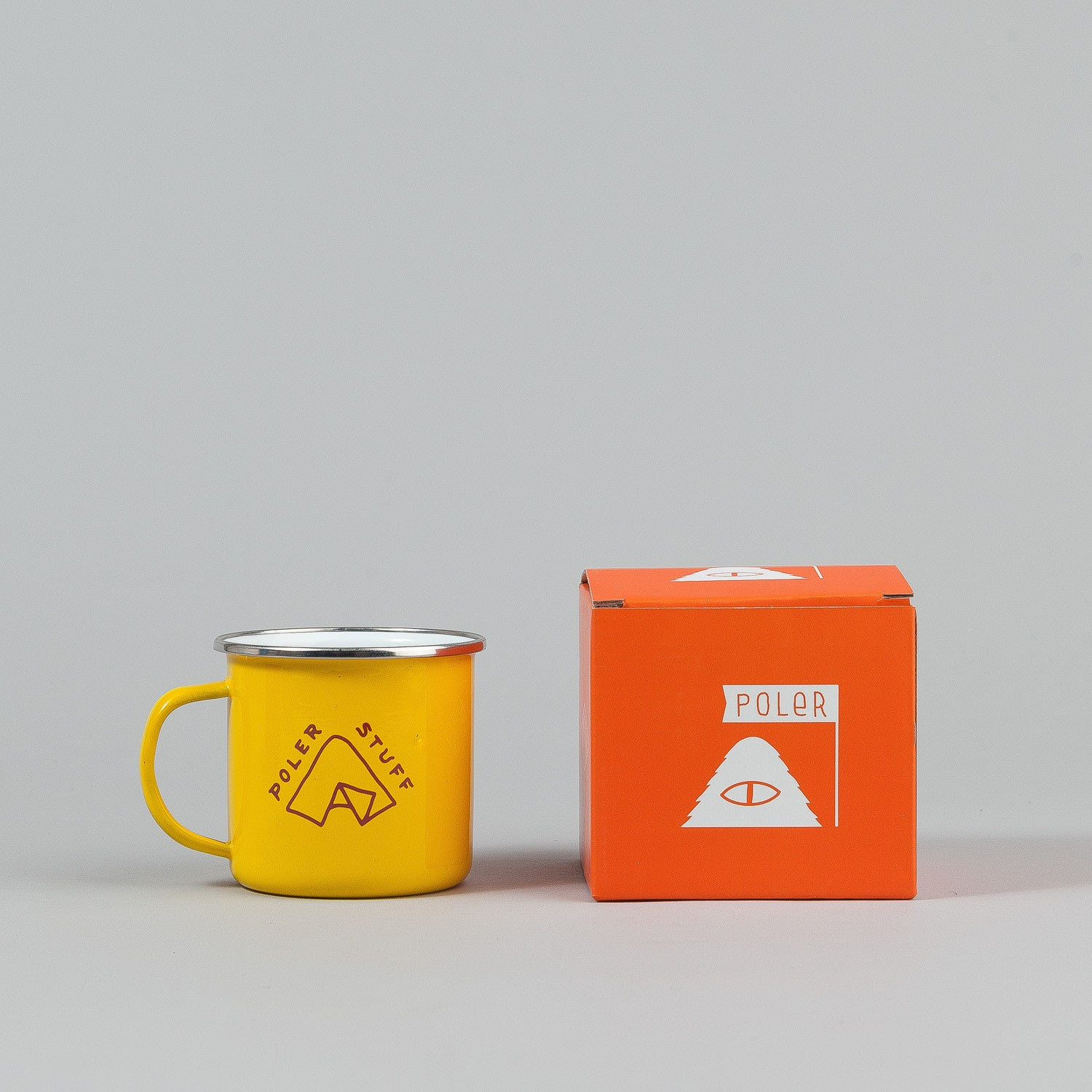 Poler Camp Mug - Yellow