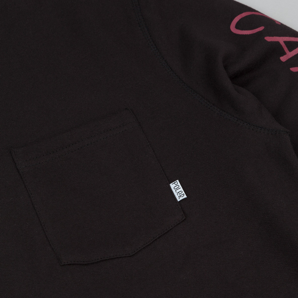 Poler Pocket Sweatshirt - Black