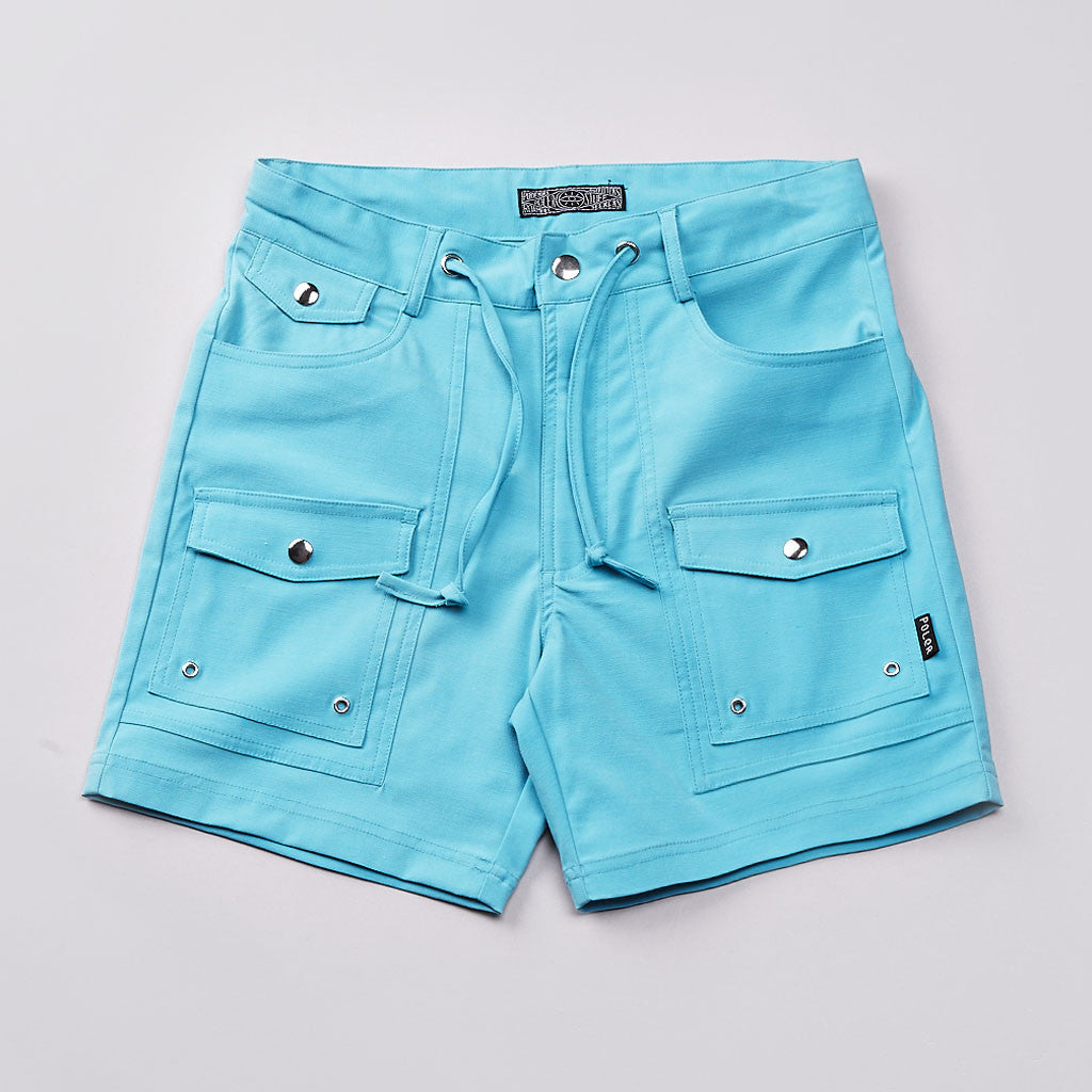 Poler Camp Vibes Shorts Blue