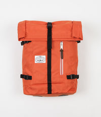 Poler Classic Rolltop Backpack - Burnt Orange