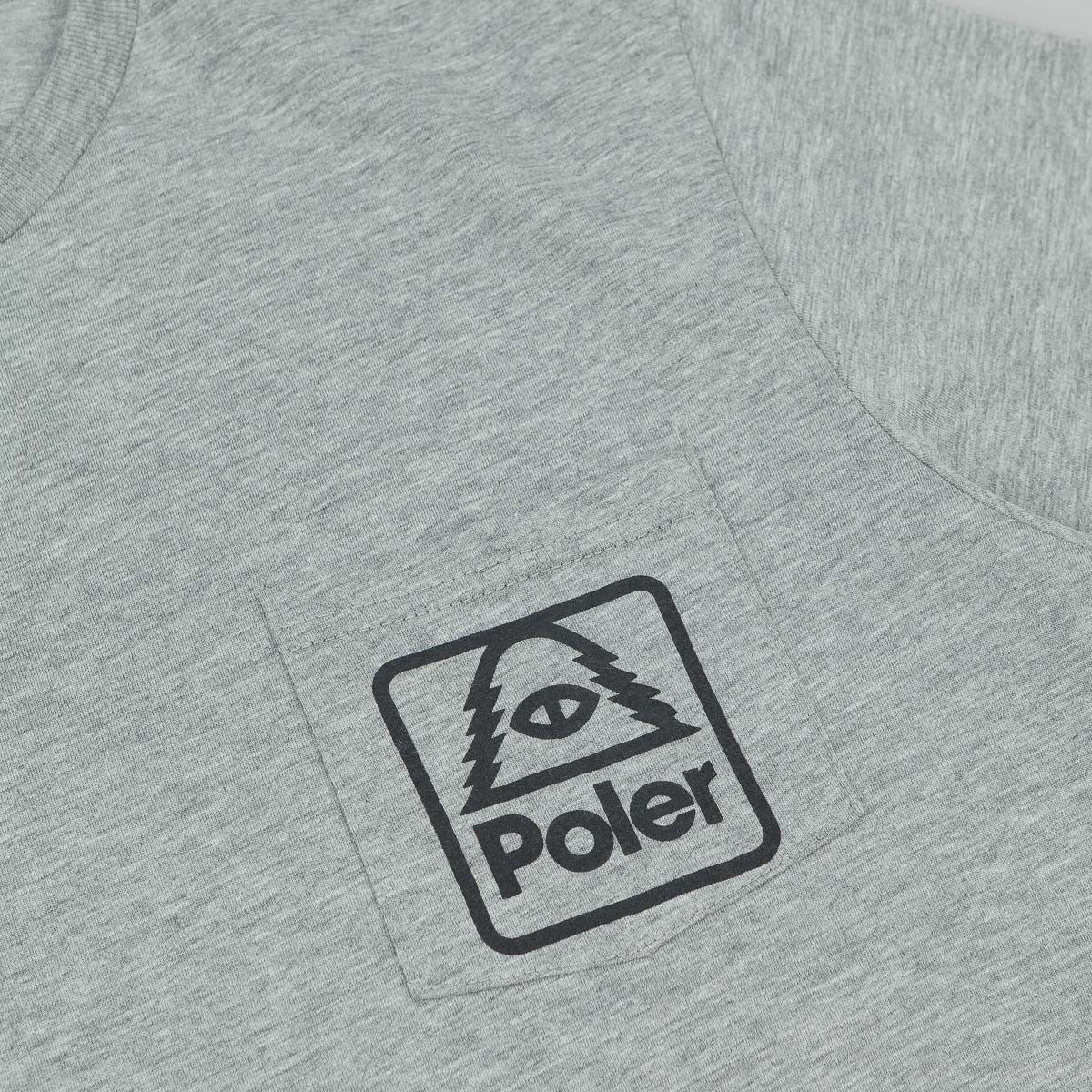 Poler Cyclops Pocket T-Shirt - Heather Grey