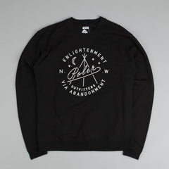 Poler Enlightenment Crew Sweater Black