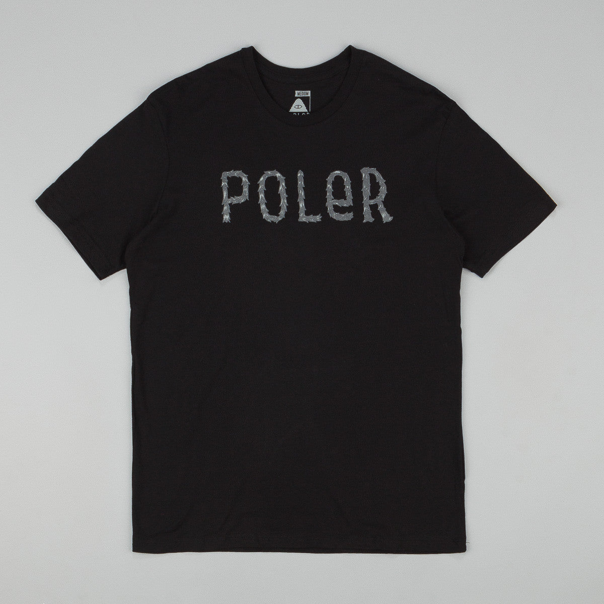 Poler Furry Font T-Shirt - Black
