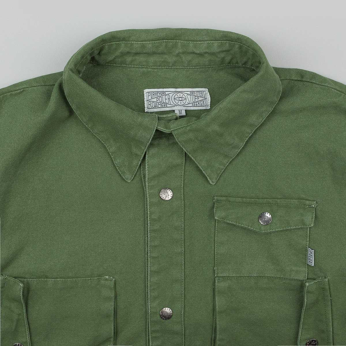 Poler Kubrick Canvas Jacket - Mossy