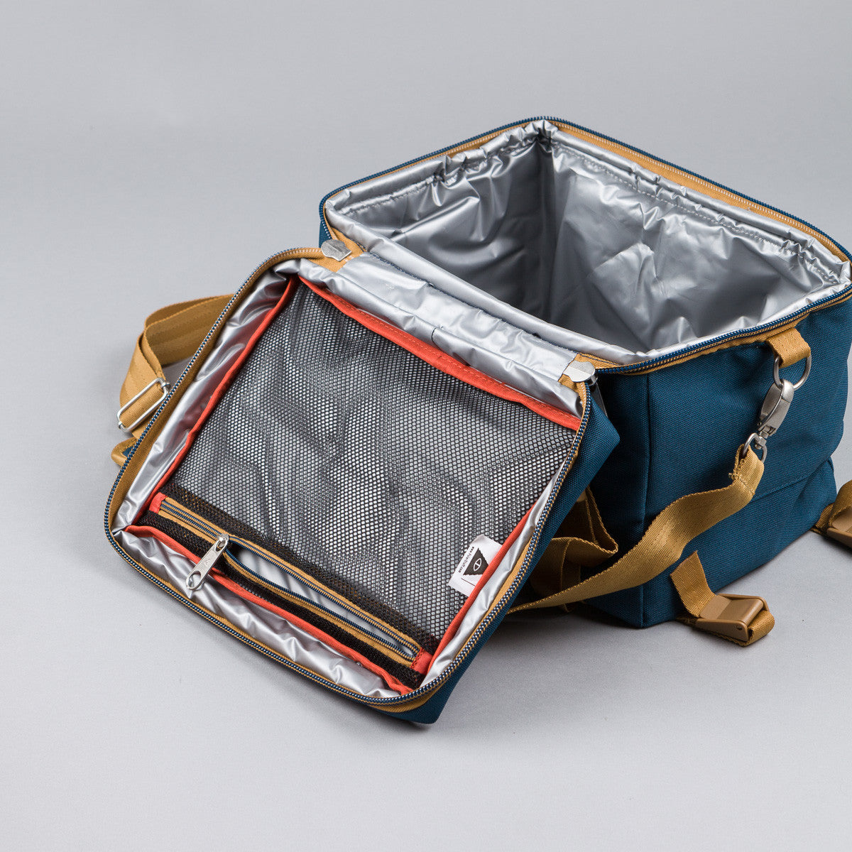 Poler Mega Camera Cooler Bag - Blue Steel