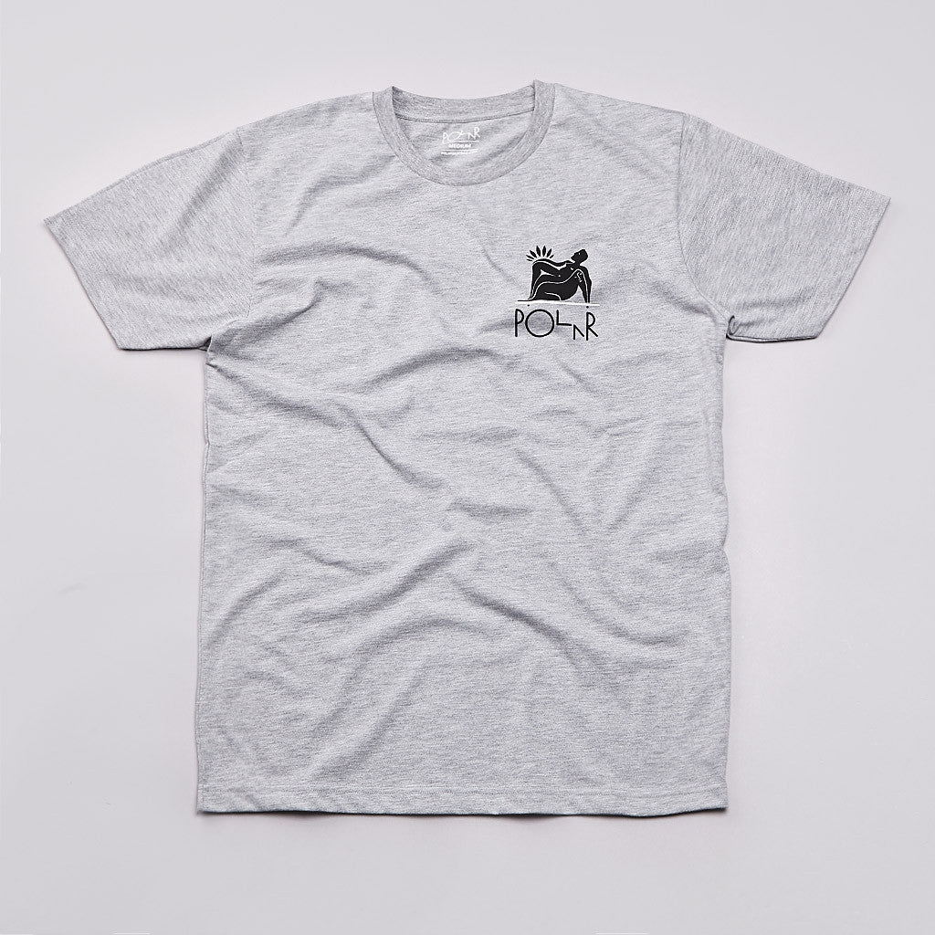 Polar No Complies T Shirt Heather Grey