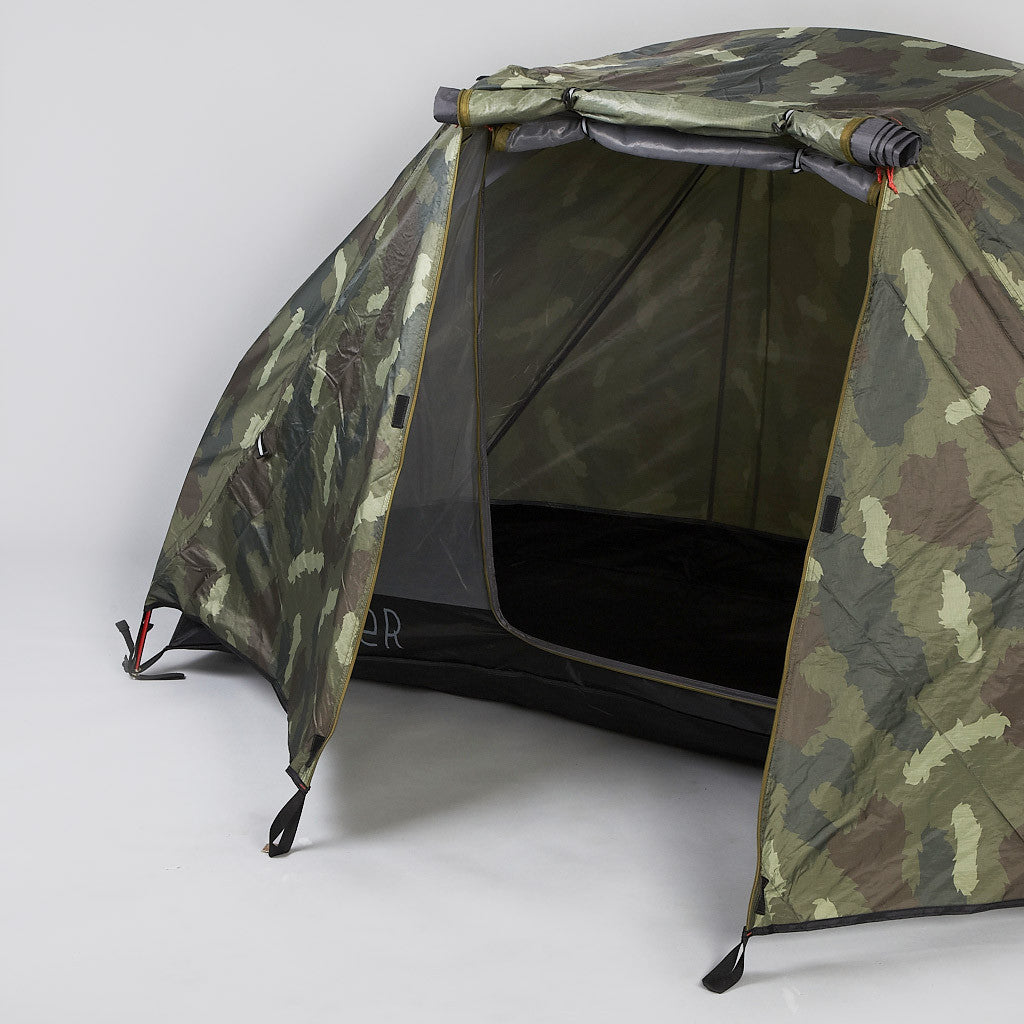 Poler One Man Tent Green Camo