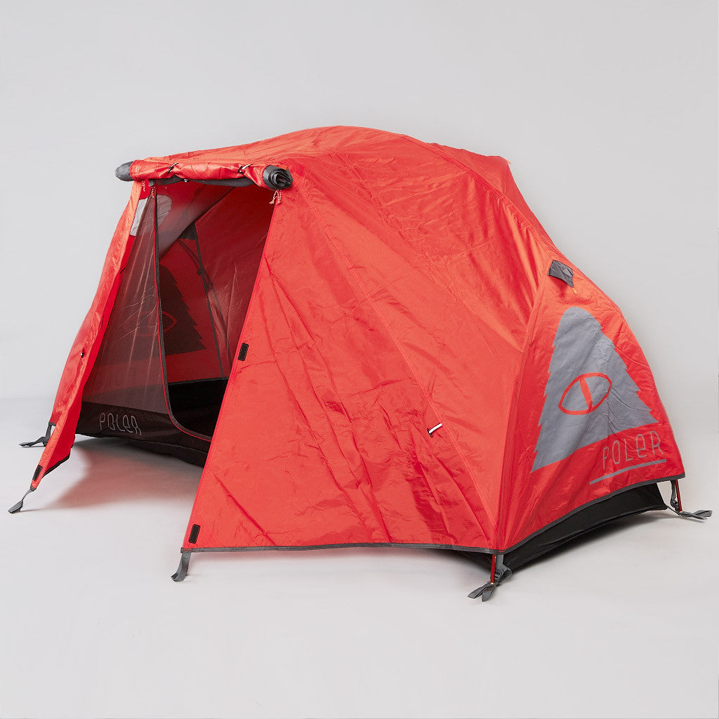 Poler One Man Tent Grey / Burnt Orange