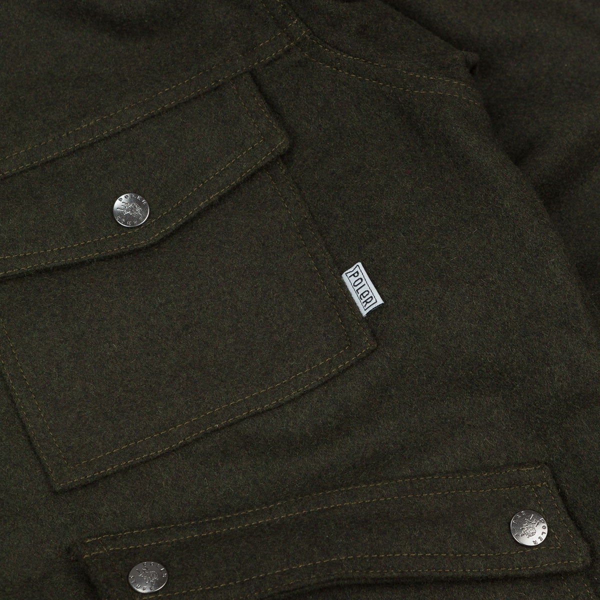 Poler Outpost Wool Jacket - Olive