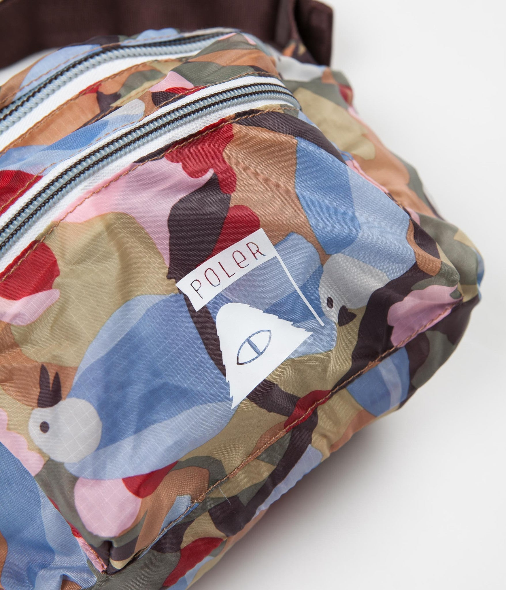 Poler Packable Bum Bag - Birdy Print