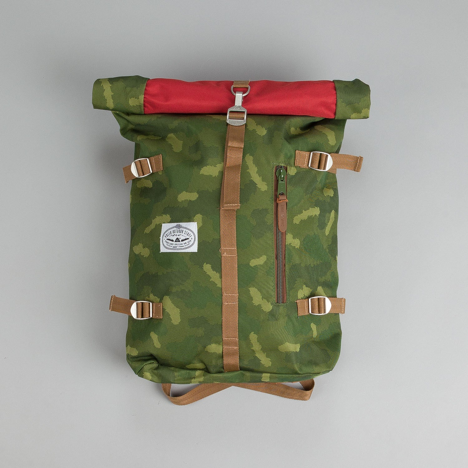 Poler Rolltop Backpack Pack