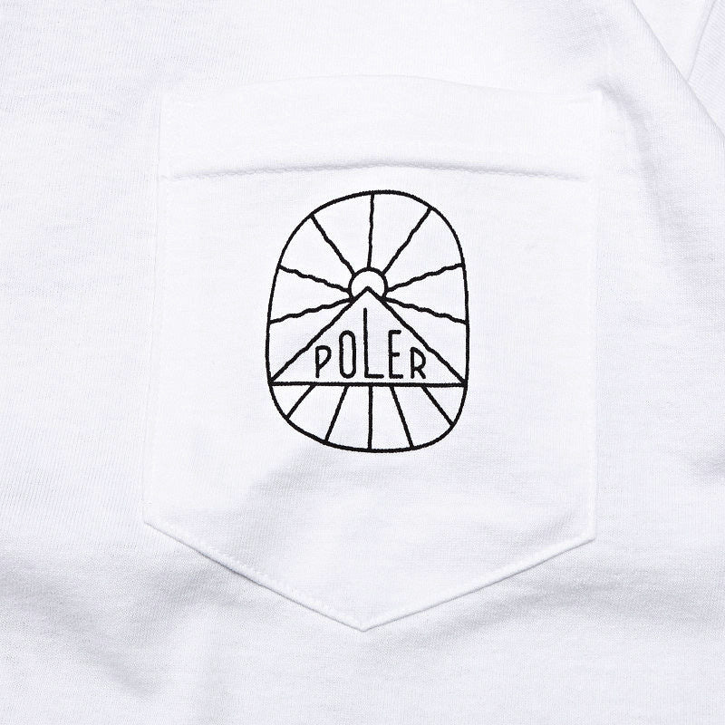 Poler S.E.A. Vibes Pocket T Shirt White