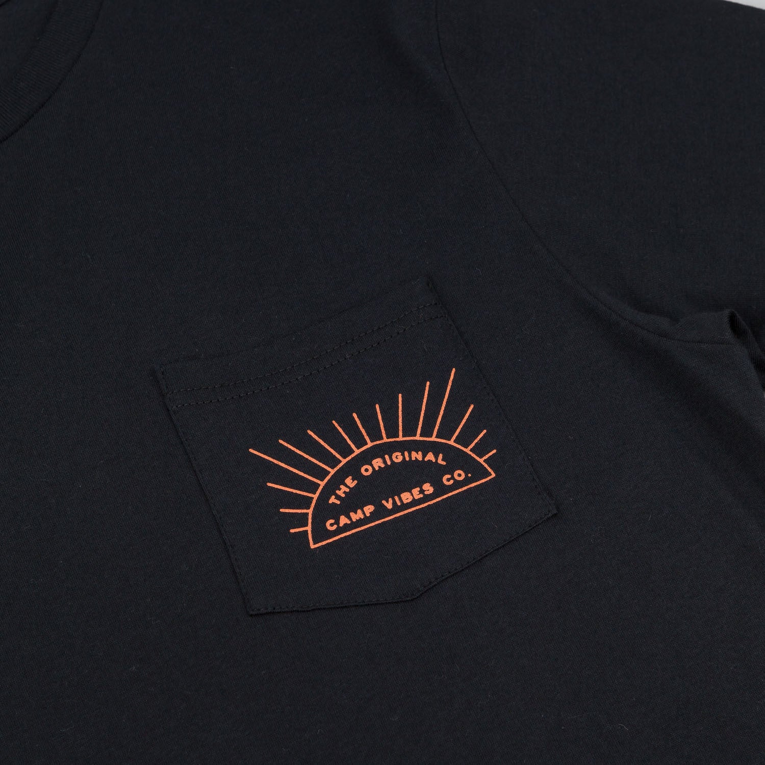 Poler Sunshine Pocket T-Shirt - Black