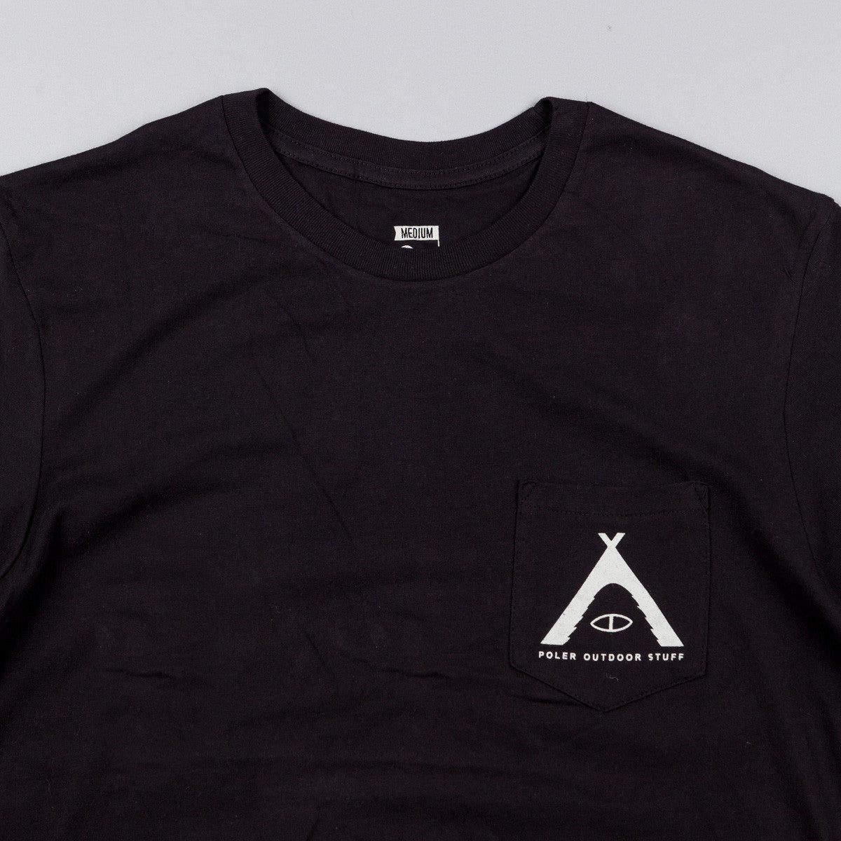 Poler Tented Pocket T-Shirt - Black