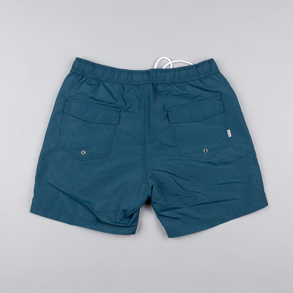 Poler Volley Camp Shorts - Blue Steel