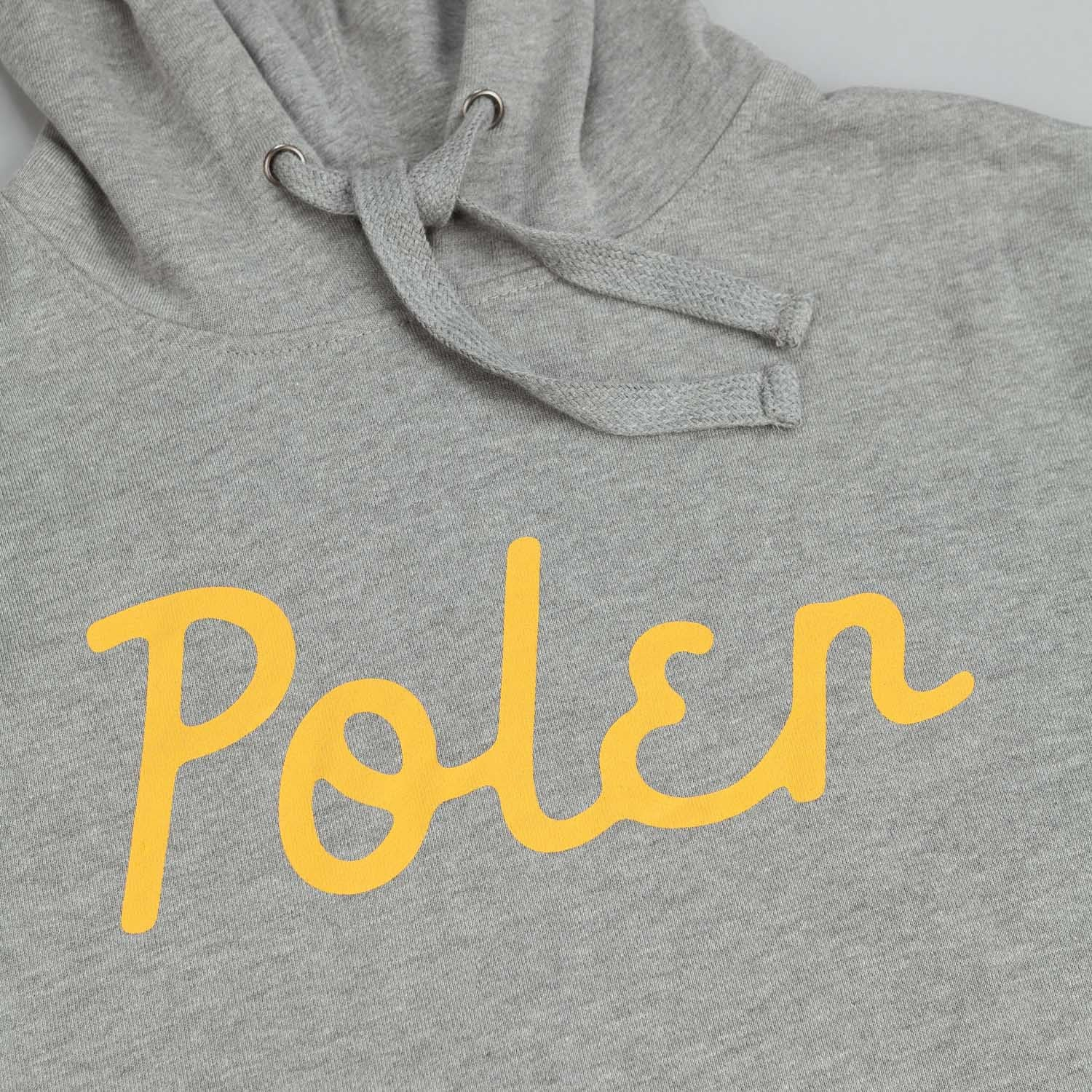 Poler Zilla Cozy Stuff Hooded Sweatshirt Grey