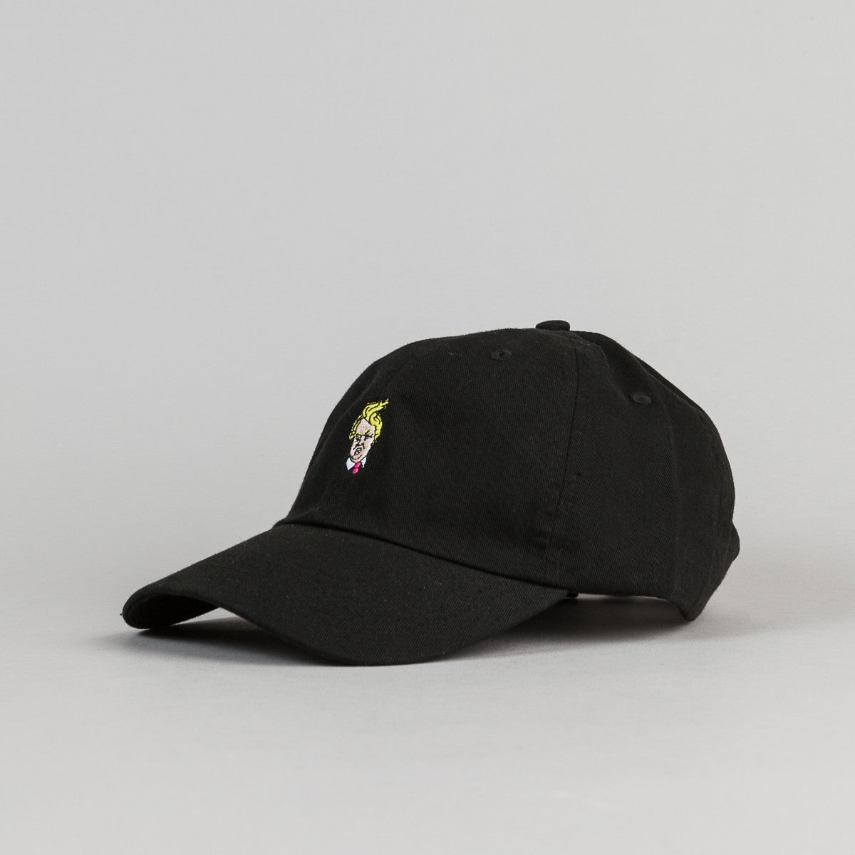 40s & Shorties Comb Over Cap - Black