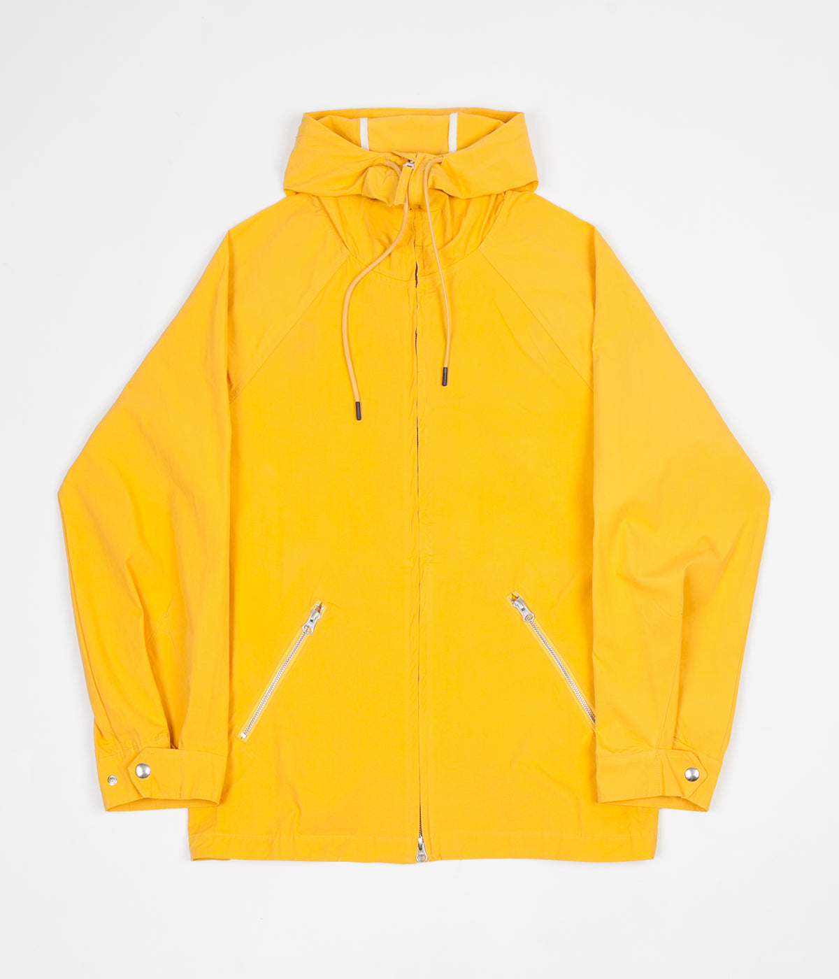 Pop Trading Company AMS Hooded Jacket - Burnt Yellow